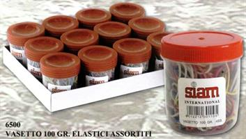 VASETTO 100 gr. ELASTICI ASSORTITI - SIAM